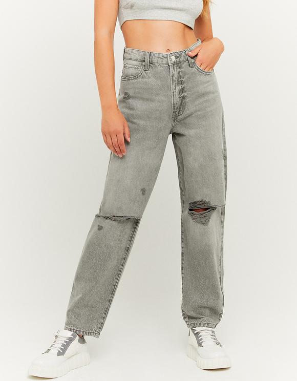 Mom Jeans a Vita Alta