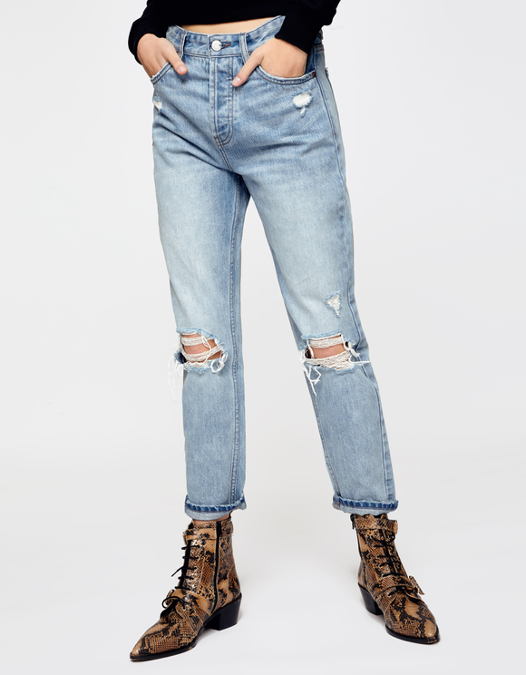 Mom Destroy High Waist Jeans