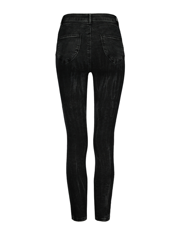 Jean Skinny Push Up Taille Haute