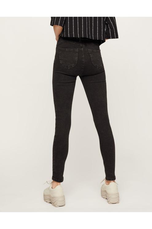 Faded High Waist Jeans