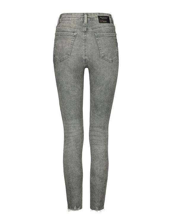 Jean Skinny Court Taille Haute