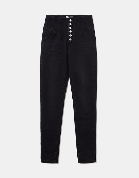 Corset High Waist Skinny Jeans