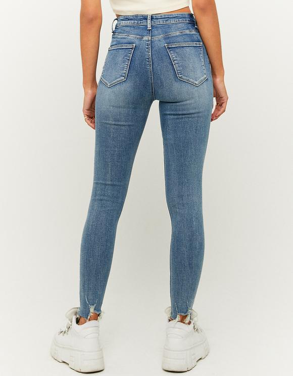 Jeans Skinny a Vita Alta