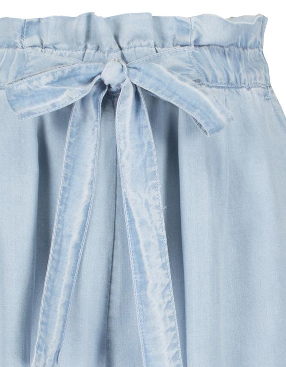 Denim Culotte Trousers