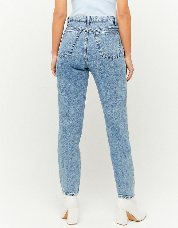 Tapered High Waist Jean