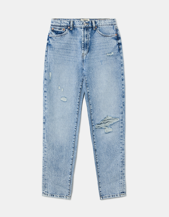 Tapered High Waist Jeans