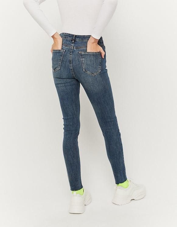 Very High Waist Skinny Jeans