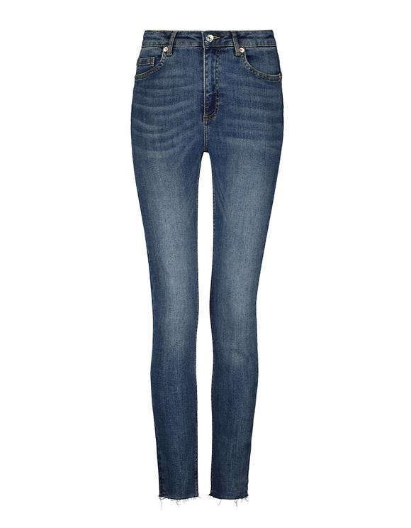 Jeans Skinny a Vita Molto Alta