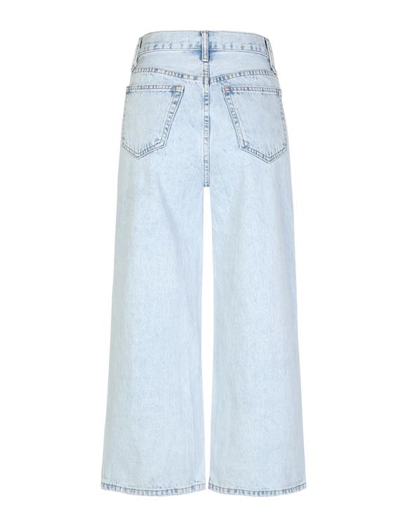 High Waist Culotte Jeans