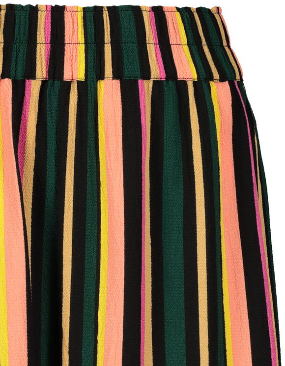 Striped Culotte Trousers