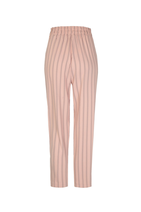 Pink Striped Trousers