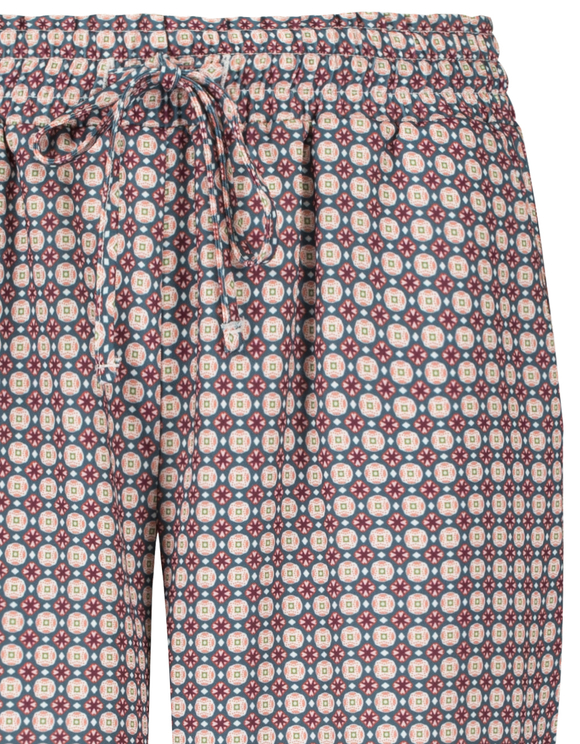 Printed Paperbag Trousers