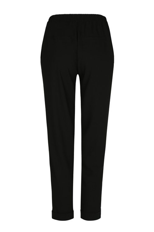 Pantalon Noir à Bandes Latérales