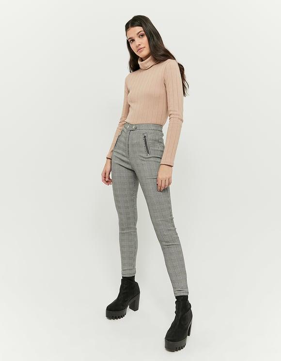 High Waist Skinny Hose