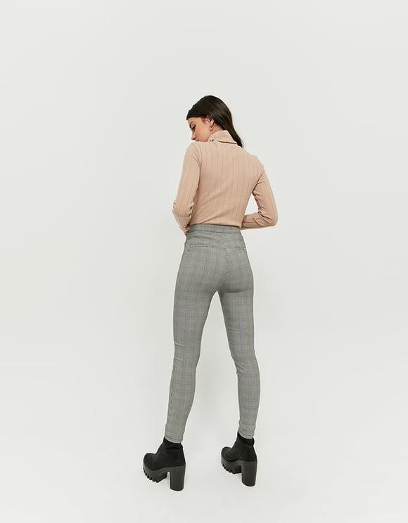 Pantalon Skinny Taille Haute