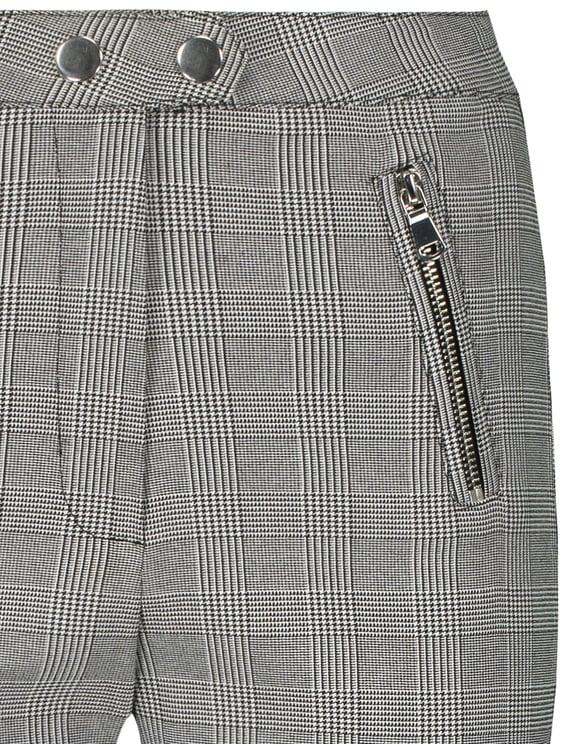 High Waist Skinny Trousers