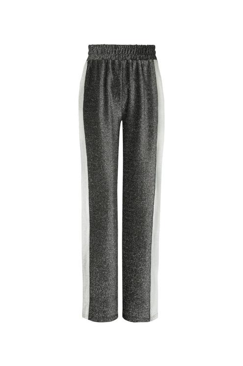 Pantalon Argenté Scintillant