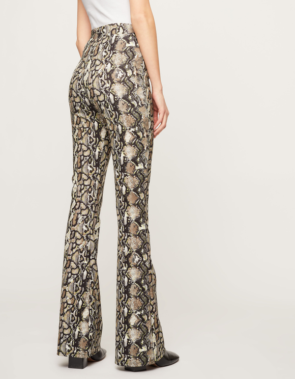 Snake Flare Trousers