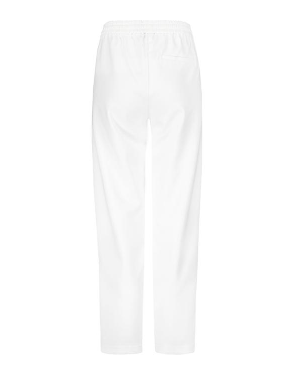 Pantalon Blanc à Lien de Serrage