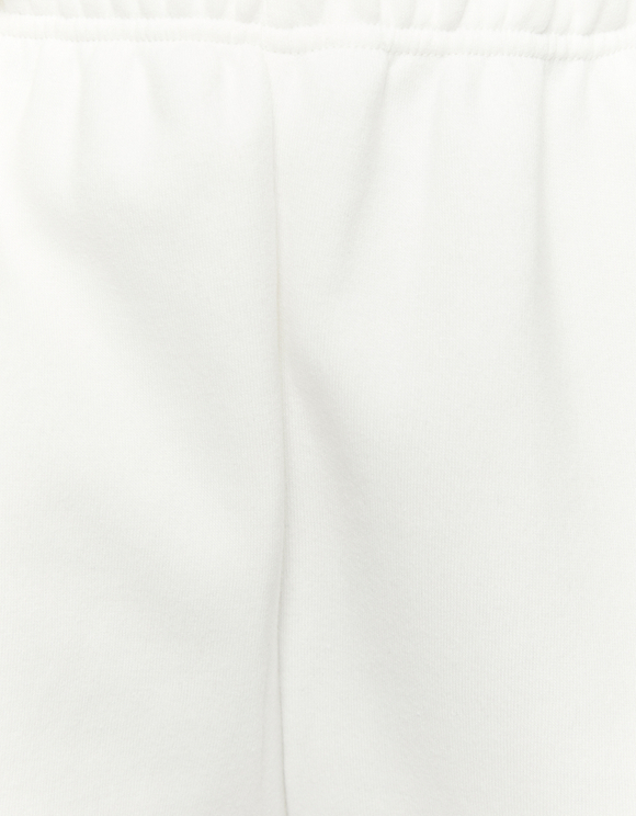 Jogging Taille Haute Blanc