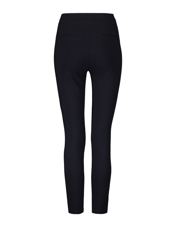 Pantalon Skinny Taille Haute Bleu