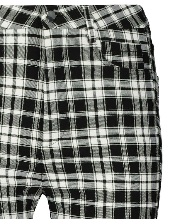 Pantalon Skinny à Carreaux
