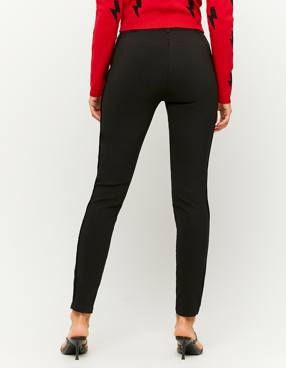 Black Trousers with Zip