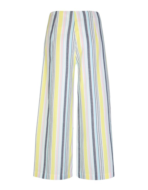 Striped Loose Trousers