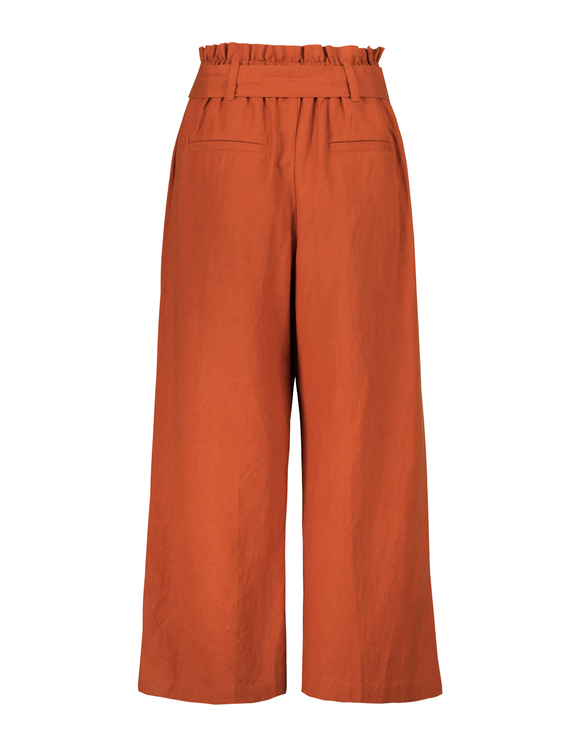Red Culotte Trousers