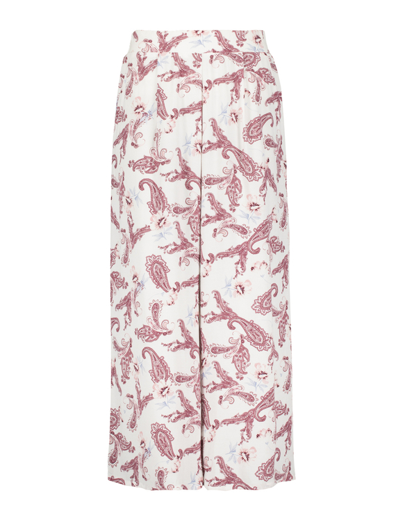 Paisley Print Culotte Trousers
