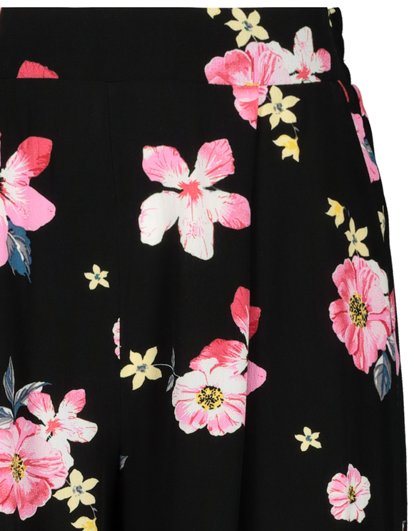 Floral Print Culotte Trousers