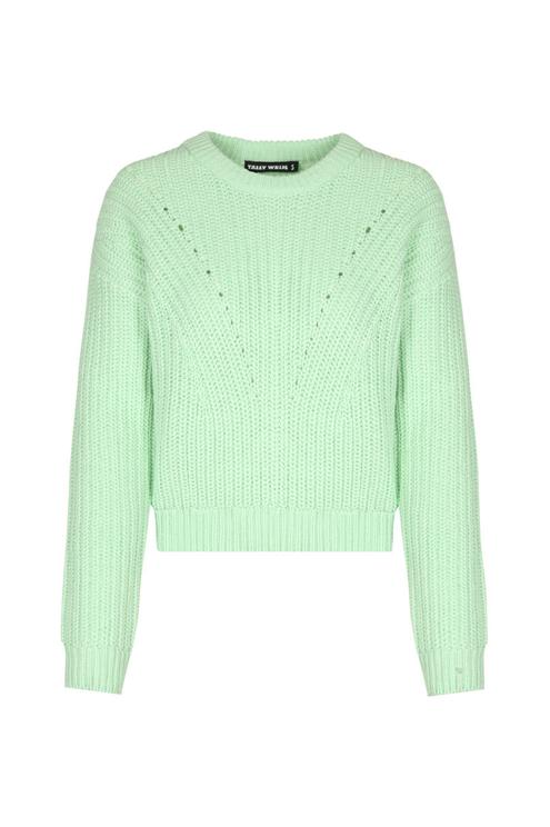 Light Green Knit Jumper