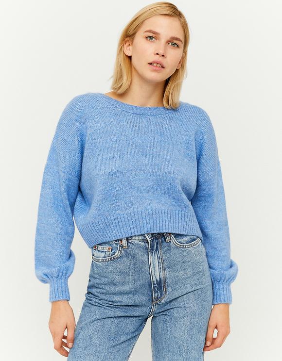 Maglione Blu da Annodare