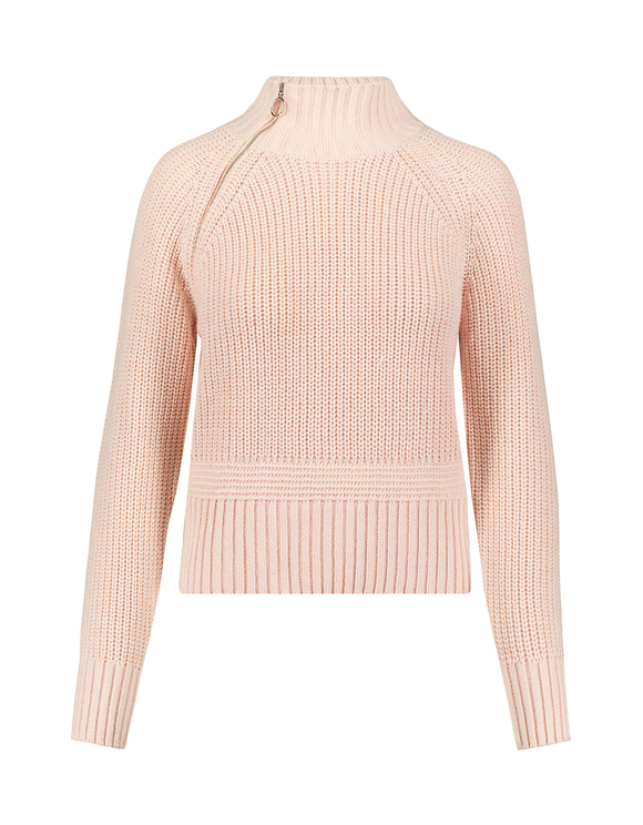 Pink Jumper with Zip