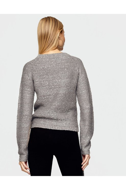 Grey Knit Jumper