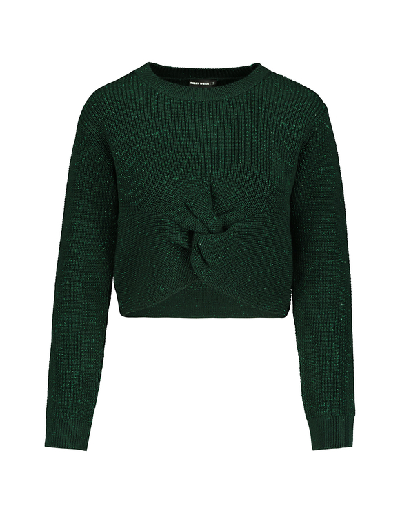 Green Twisted Jumper