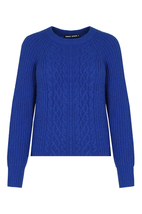 Blue Knit Jumper