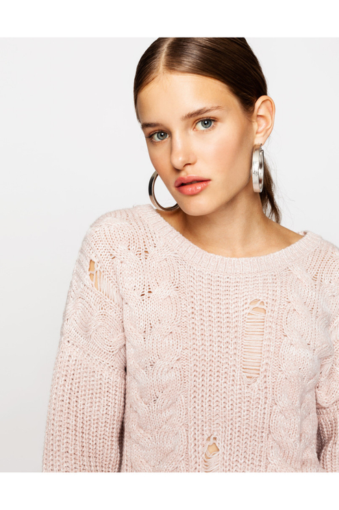 Pink Knit Jumper
