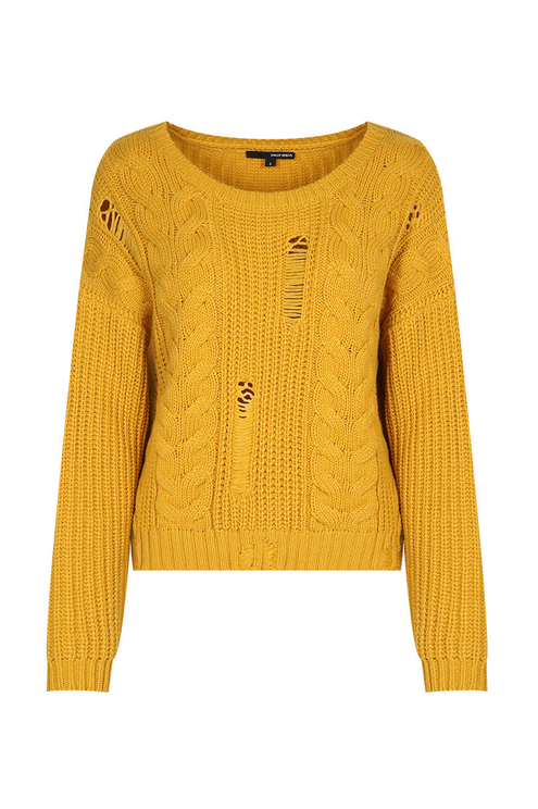 Yellow Knit Jumper