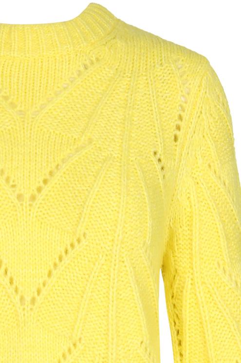 Yellow Knit Jumper