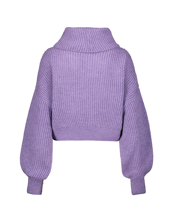 Lilac Cropped Jumper