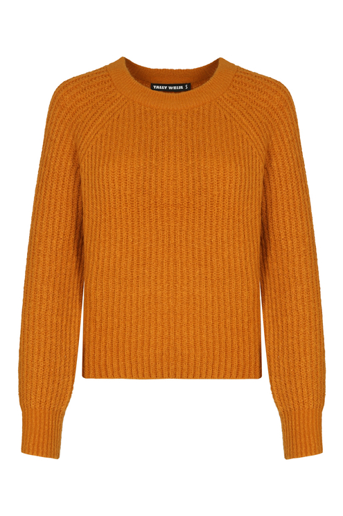Orange Raglan Jumper