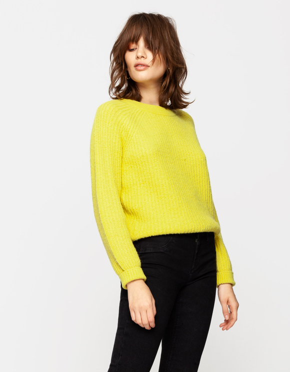 Yellow Raglan Jumper