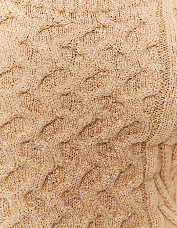 V-Neck Knitted Top