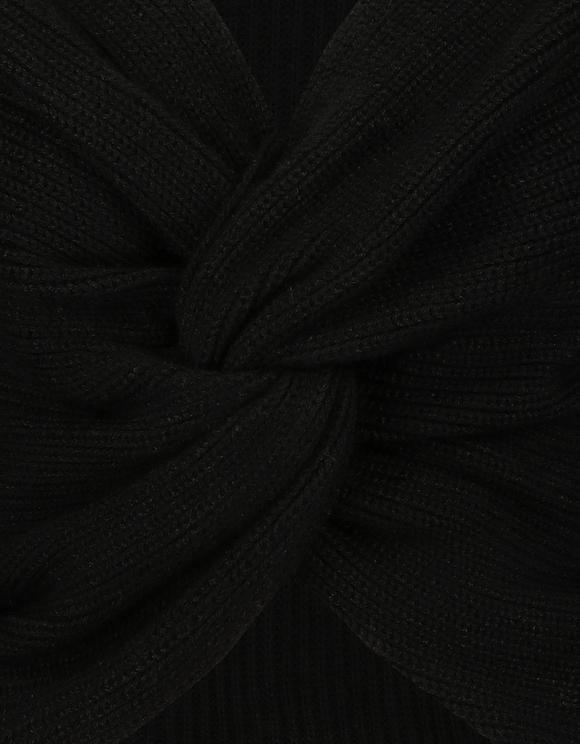 Black Twisted Jumper