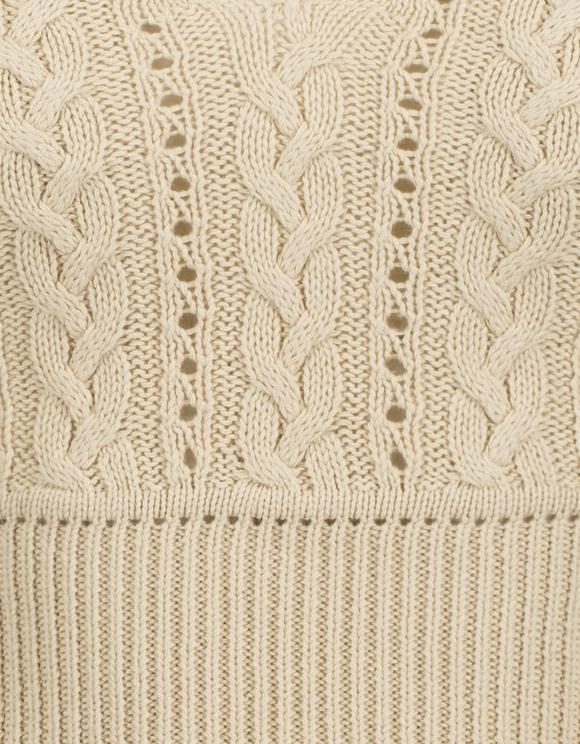 Beige Fine Knit Top