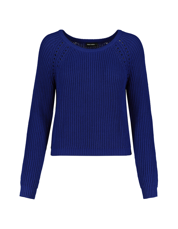 Blue Knitted Jumper