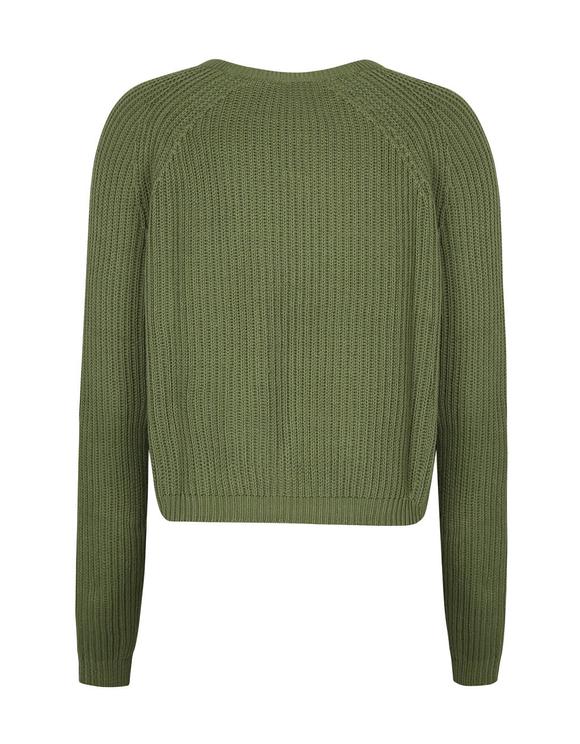 Khaki Knitted Jumper