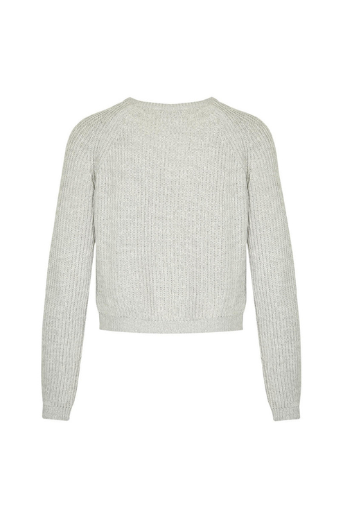 Grey Knitted Jumper
