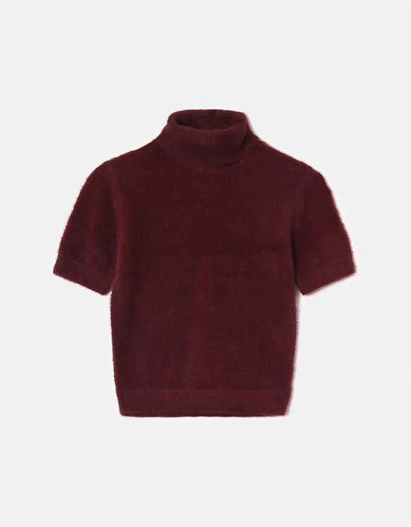 Red Cropped Jumper